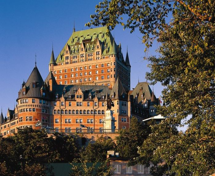 8 Fairmont Le Cau Frontenac Old Quebec City Hotels