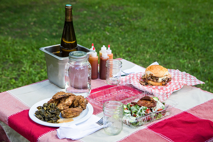 picnic from triple crown dinette