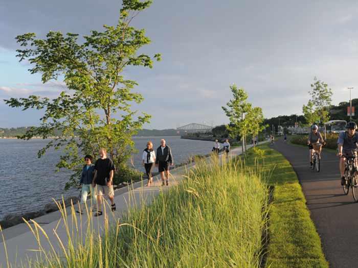 Enjoy a Walk on Promenade Samuel-De Champlain