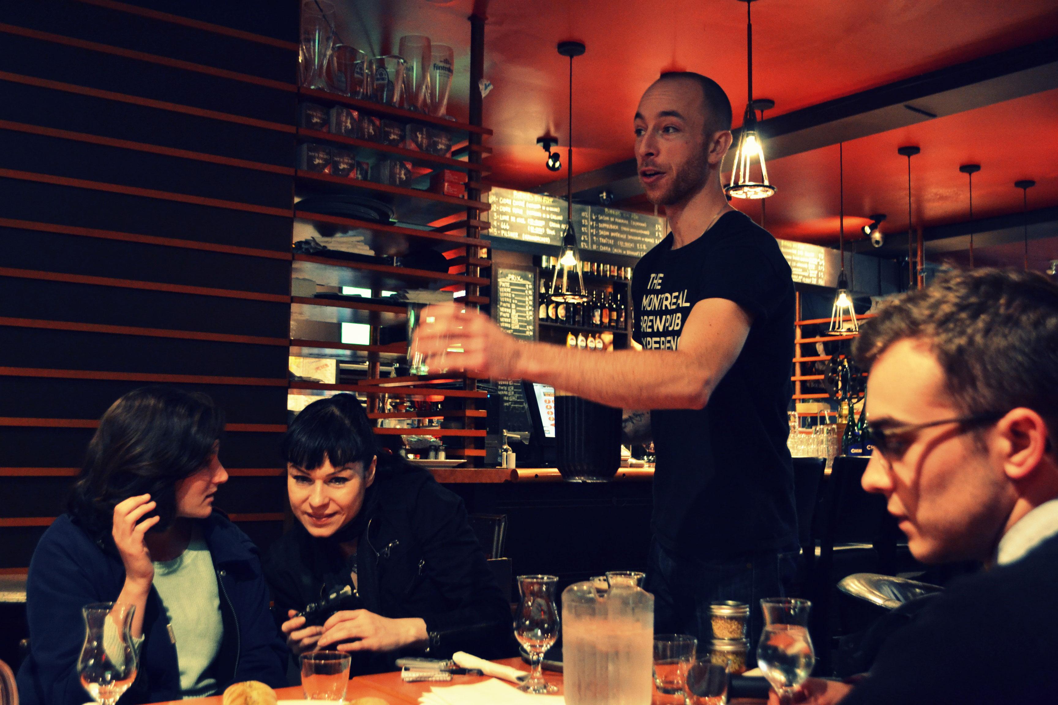 Best Montreal Bachelor Party Restaurants