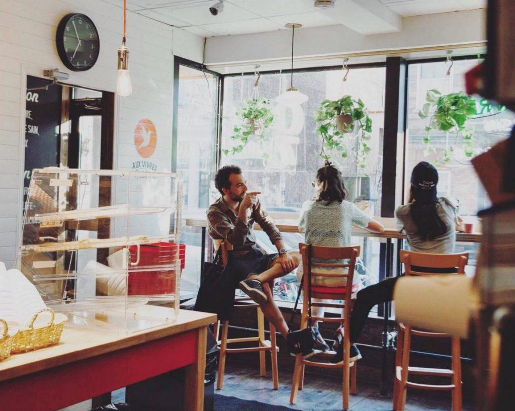 Vegetarian restaurants montreal aux vivres