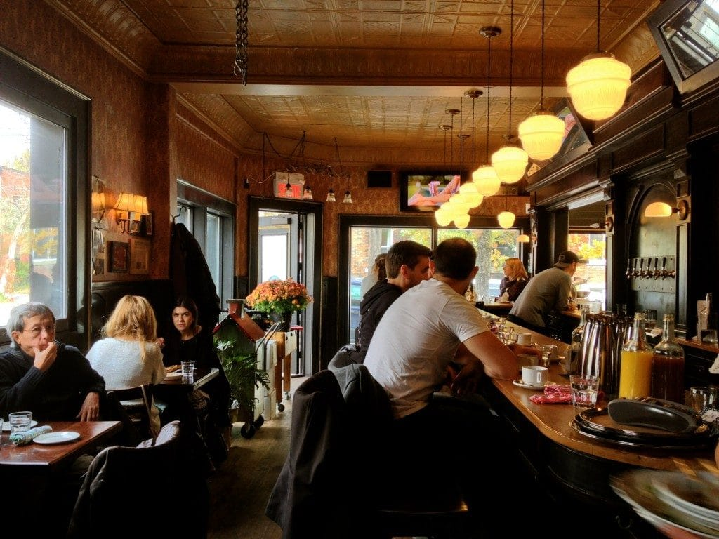 maison publique best montreal brunch restaurant interior