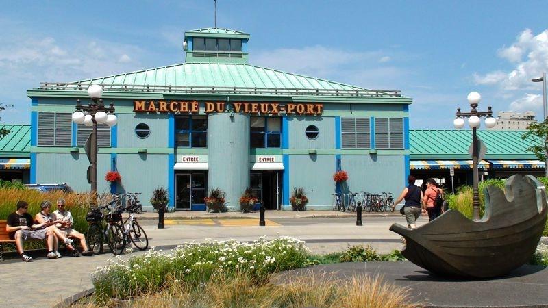 Le marché du Vieux Port in Quebec City