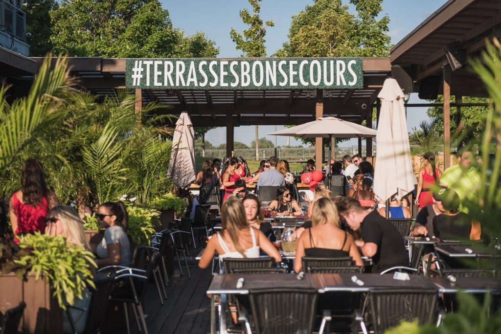 terrasses bonsecours bistro night club old montreal waterfront