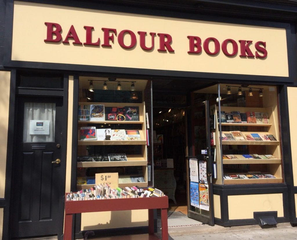 balfour books little italy toronto