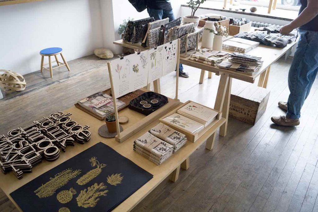 bookhou shop display trinity bellwoods toronto