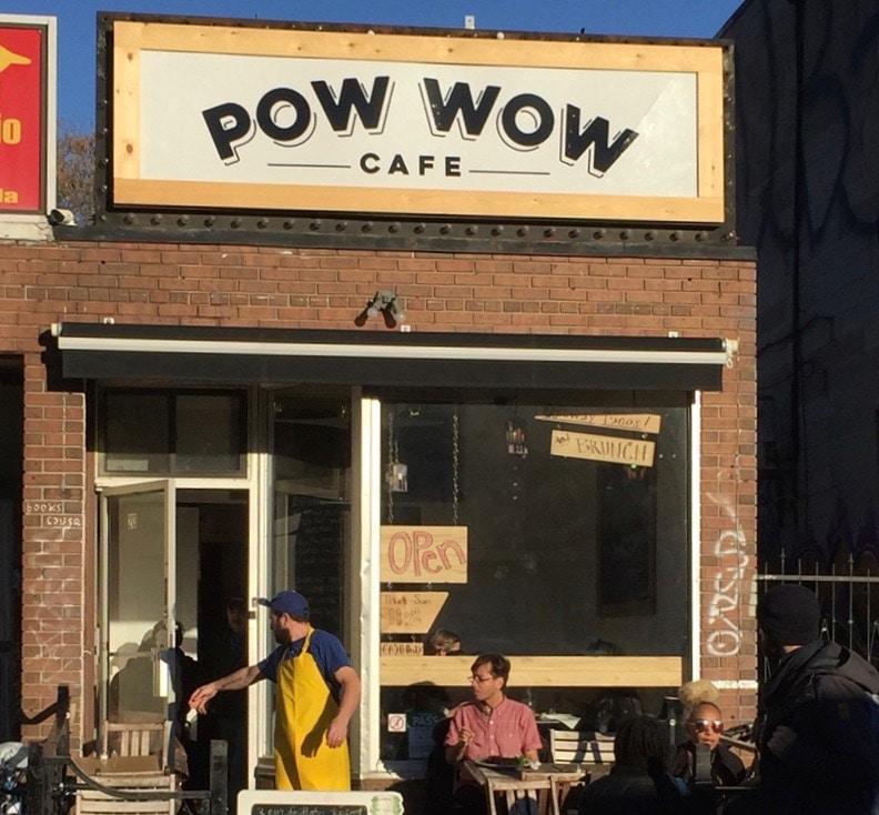 pow wow cafe kensington market toronto