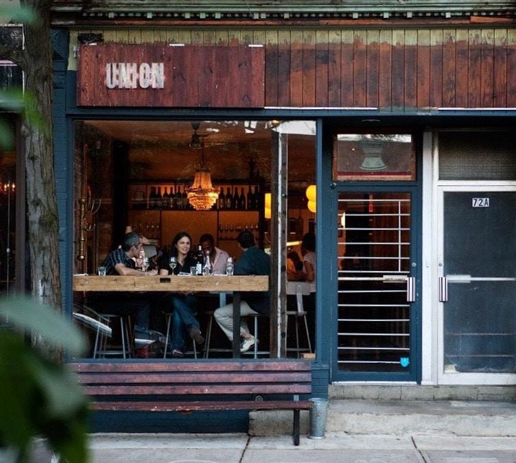 union restaurant exterior trinity bellwoods toronto