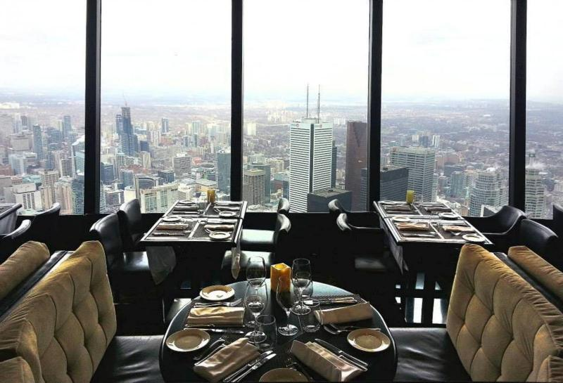 360 Cn Tower Downtown Toronto Restaurants