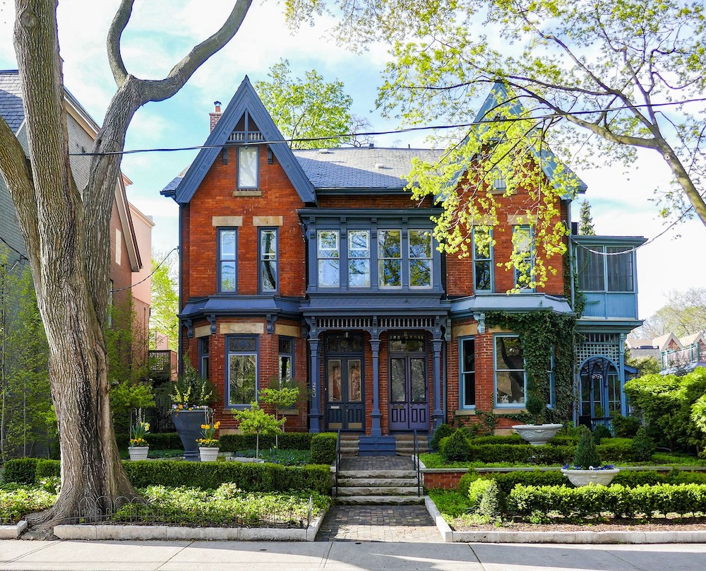 cabbagetown home toronto