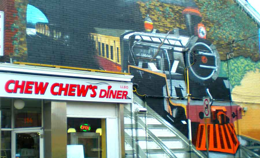 chew chews diner cabbagetown toronto
