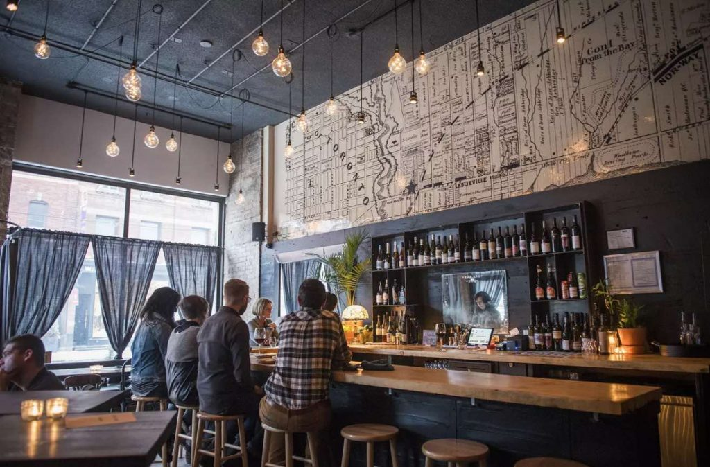 chez nous wine bar leslieville things to do in toronto