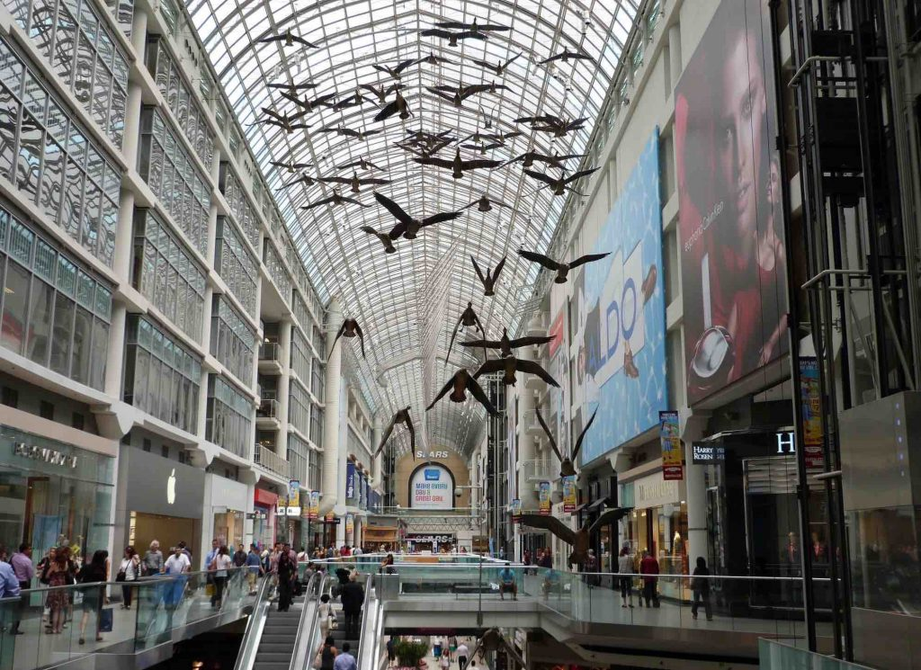 eaton center downtown toronto things to do in toronto