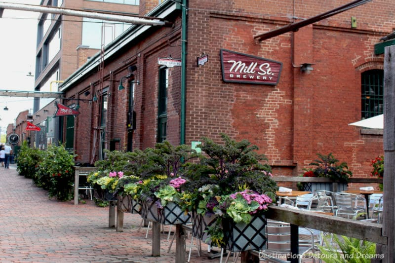 mill street distillery district toronto