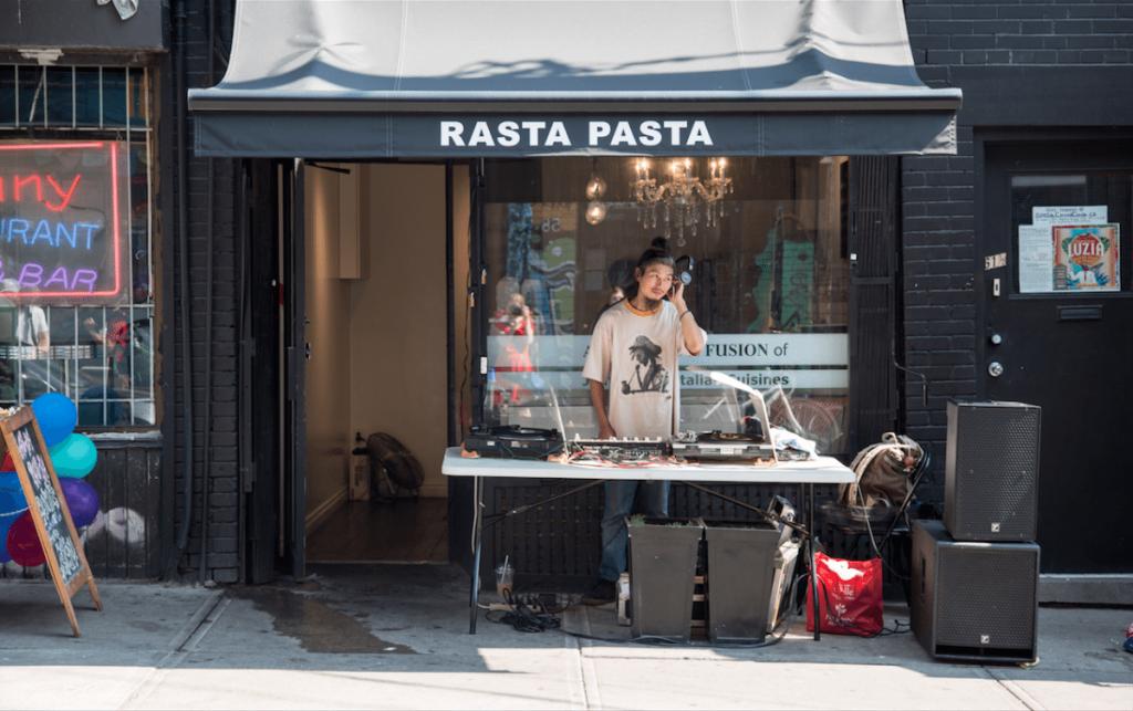 Rasta Pasta kensington market restaurants