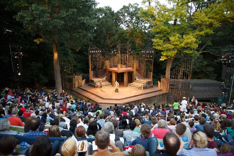 shakespeare in high park things to do in toronto