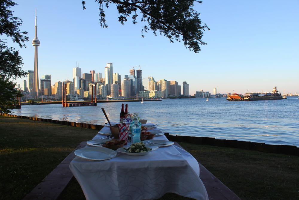 toronto food tours culinary adventure co toronto islands picnic