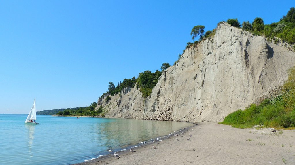 the scarborough bluffs things to do in toronto