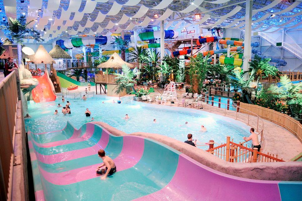 bora parc at valcartier indoor water park quebec city