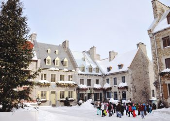place royale in winter things to do in quebec city