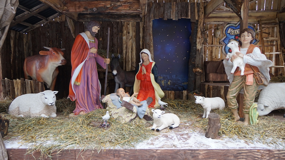 nativity scene quebec city christmas