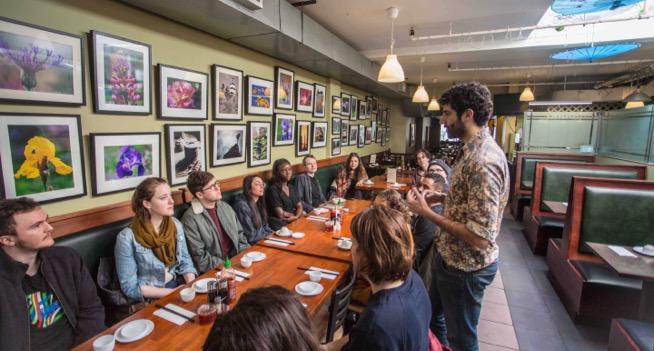 Mother's dumpling food tour group toronto