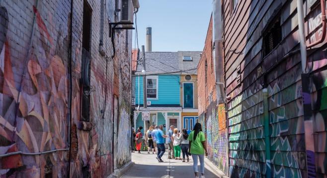 back alley kensington market group
