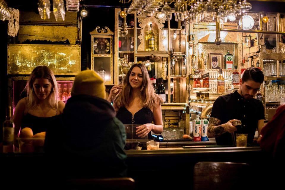 bartenders at pow pow