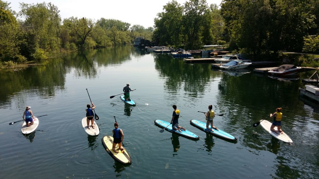 Toronto Island SUP Toronto walking tours
