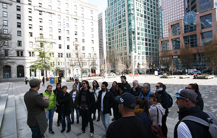 vancouver walking tours downtown