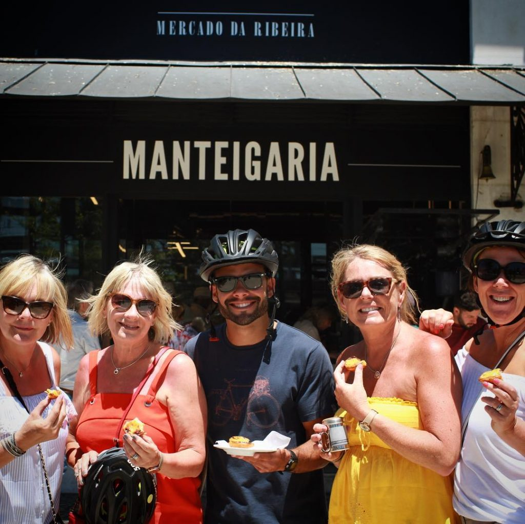 Lisbon Food Tours on bicycles