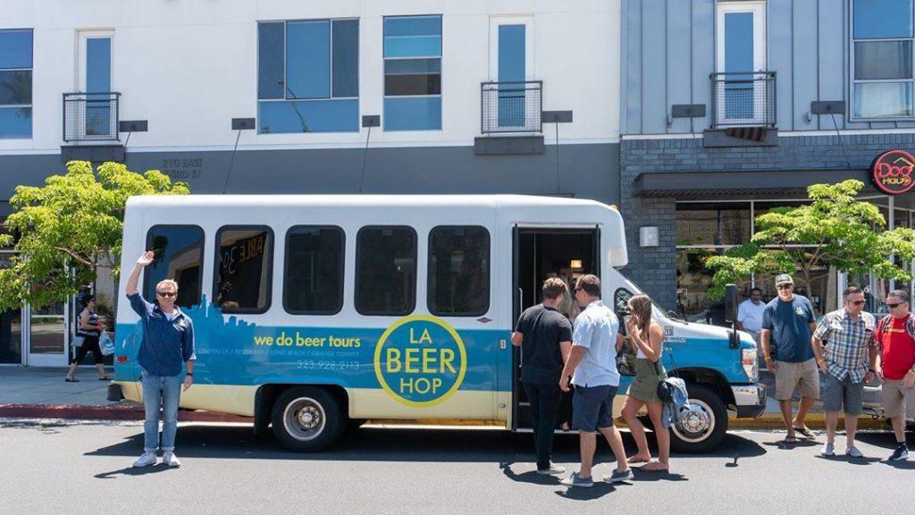 LA Beer Hop Tour Bus