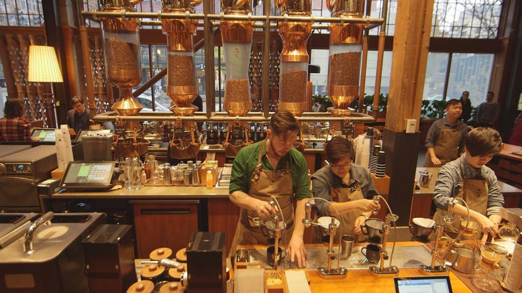 seattle food tours starbucks reserve