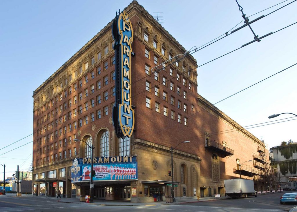 seattle music tours paramount theatre