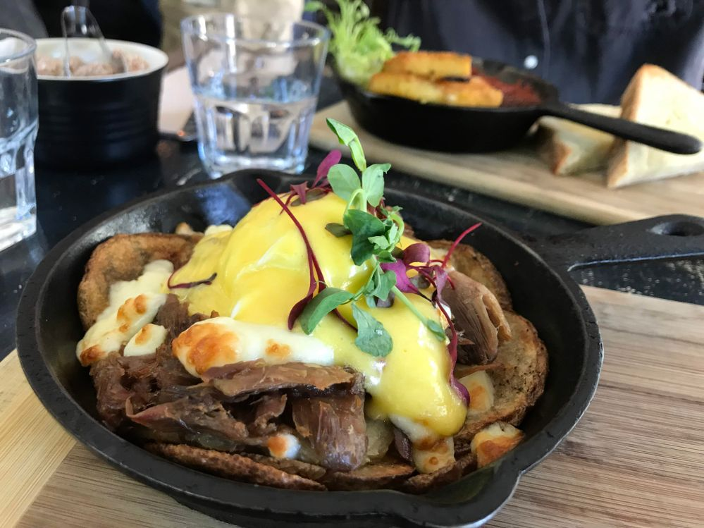 arts cafe breakfast or brunch poutine montreal