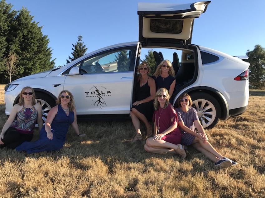 Tesla Custom Winery Tours