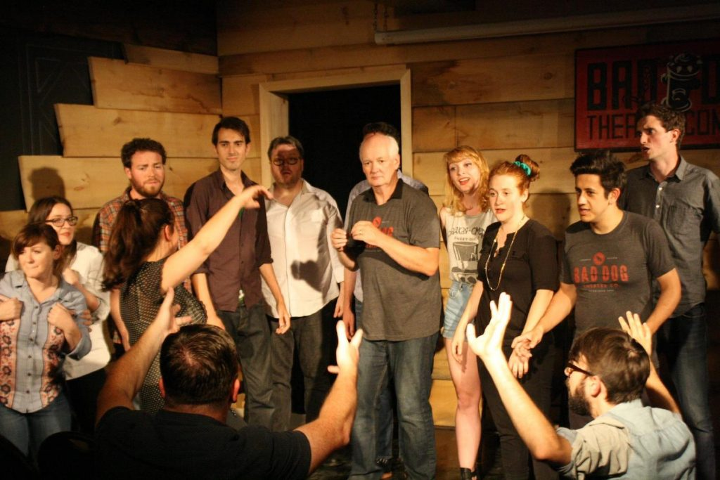 improv workshop at bad dog comedy theatre toronto