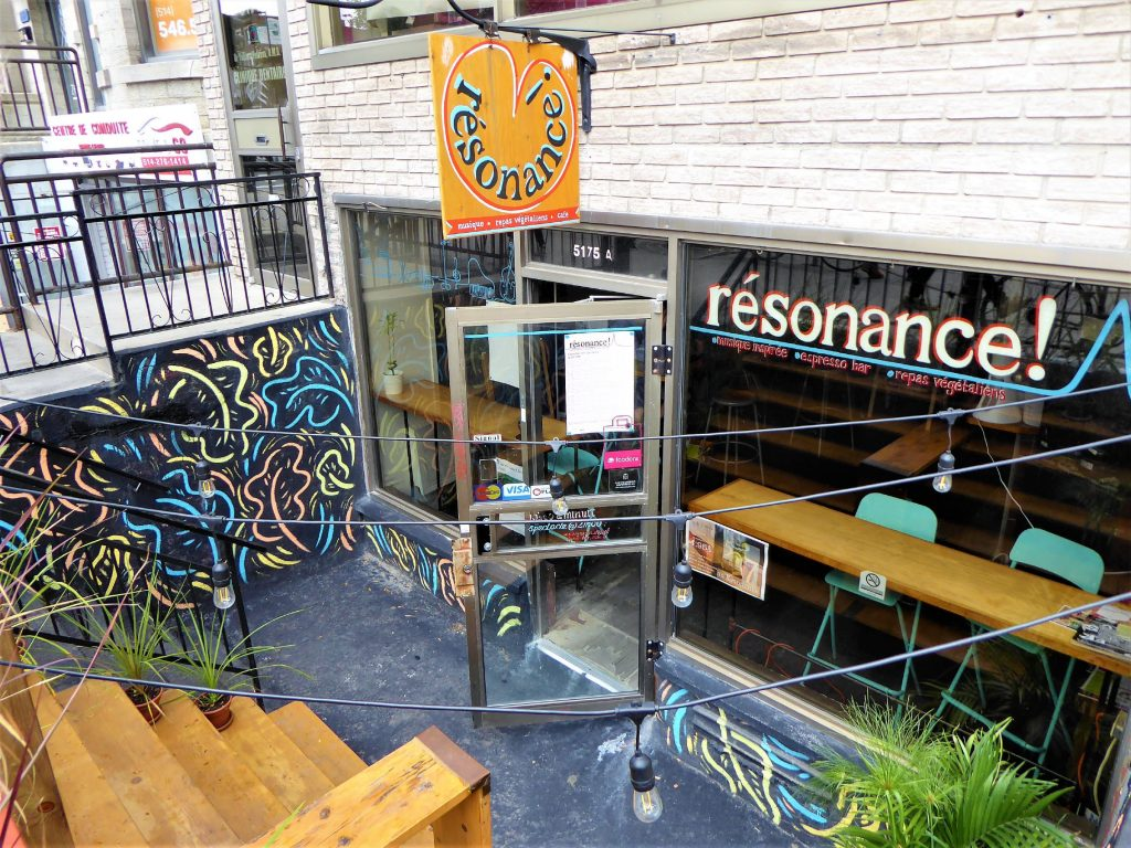 resonance vegan cafe montreal